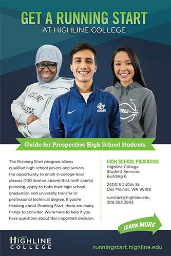 Highline College Running Start Flyer