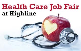 Health Care Job Fair at Highline College