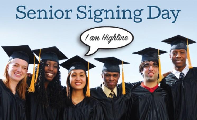 Highline College Senior Signing Day