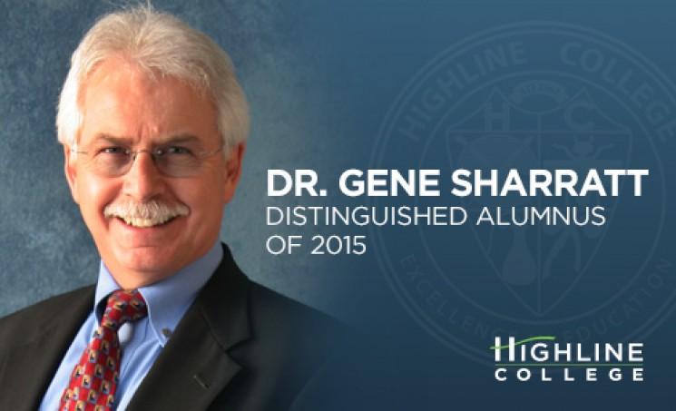 Dr. Gene Sharratt Distinguished Alumnus of 2015