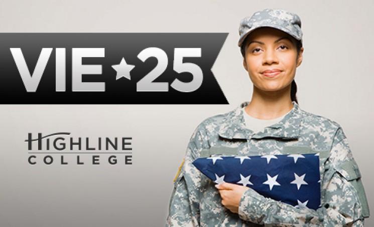 Highline College VIE-25 photo of veteran