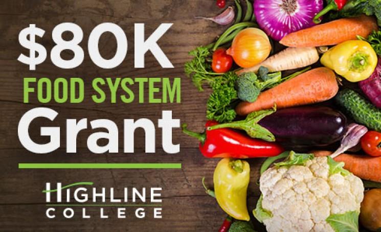 Highline College Receives $80,000 Food System Grant - image of vegetables