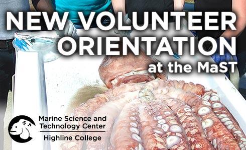 Highline College MaST Center New Volunteer Orientation