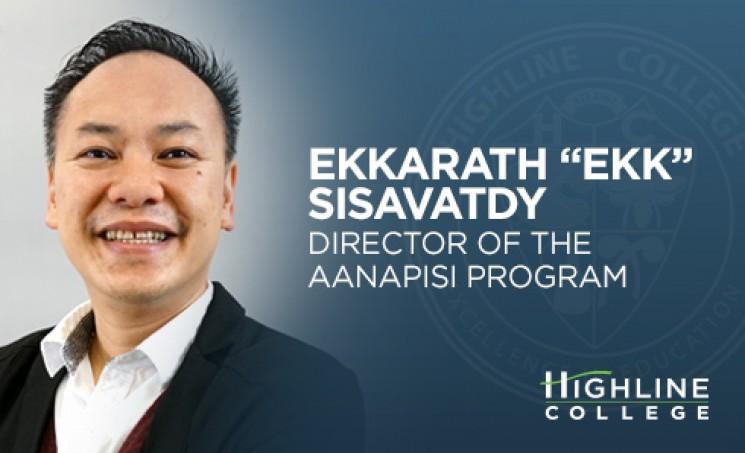 Highline College Director of the AANAPISI Program Ekkarath Sisavatdy