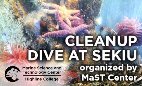 Cleanup Dive Sekiu