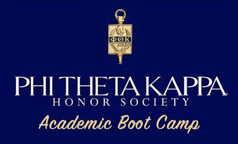 Phi Theta Kappa Honor Society Academic Boot Camp