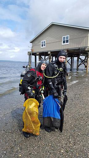 Highline College MaST Center Divers