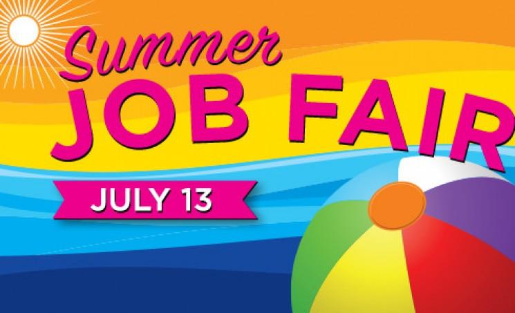 2016 Summer Job Fair, July 13