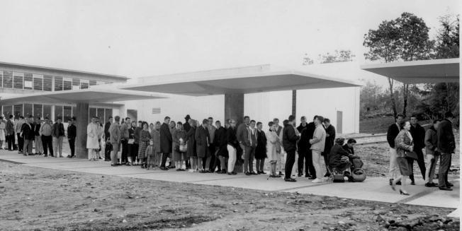 Highline College Registration Line Evening Classes New Campus 1964