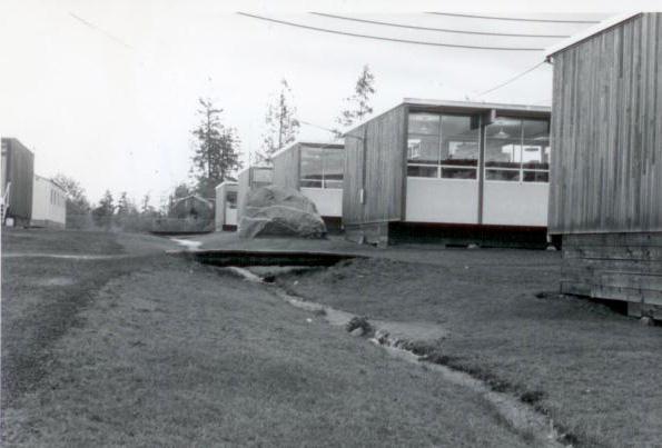 Portables at Glacier High School