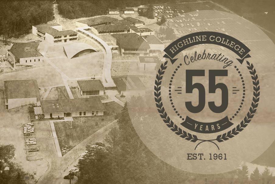 Highline College 1960s Campus