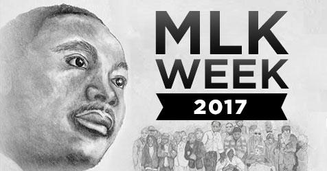 Rev. Dr. Martin Luther King Jr Week Poster 2017