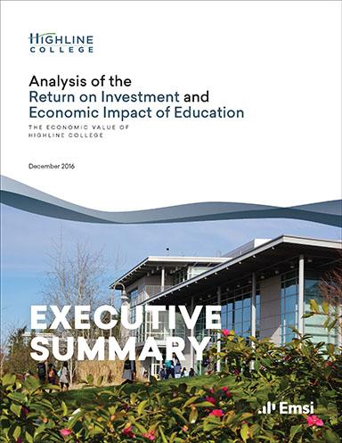 Highline-College-Executive-Summary