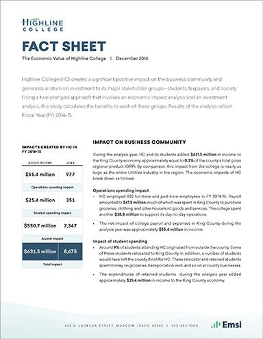 Highline-College-Fact-Sheet