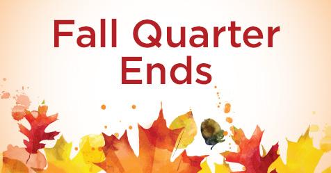Fall Quarter Ends for Highline College