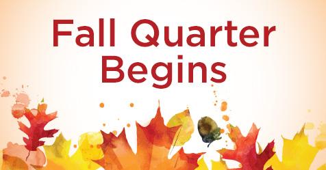 Fall Quarter Begins for Highline College