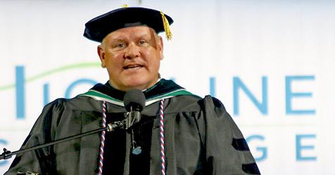 Highline College Trustee Dan Altmayer