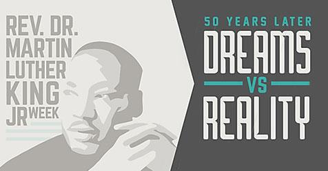 Rev. Dr. Martin Luther King Jr Week Poster 2018