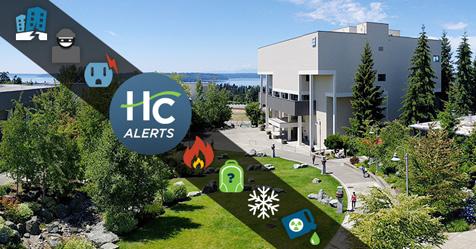 Highline College Alerts information