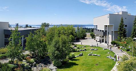Photo of Highline College campus