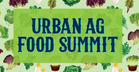 Urban Agriculture Summit poster design