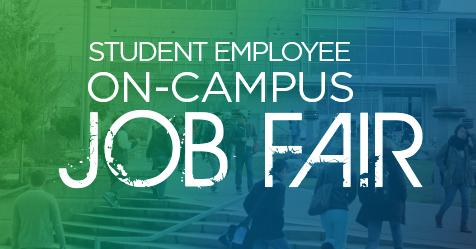 Highline College Student Employee On-Campus Job Fair