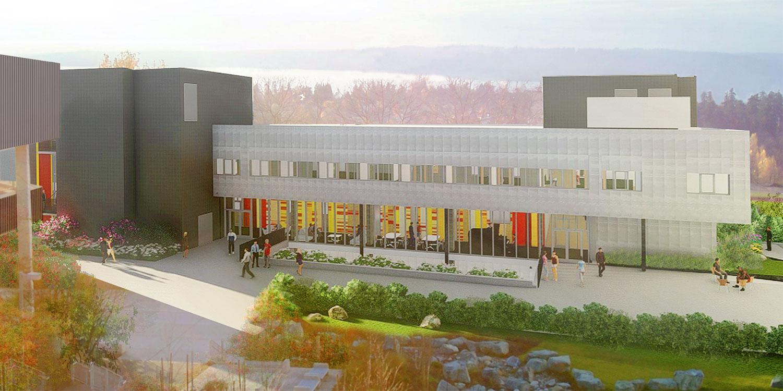 Rendering of Highline College Building 26
