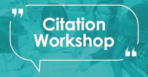 Highline College Citation Workshop
