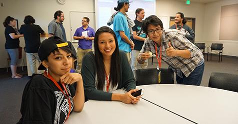 Native Student Success Summit students