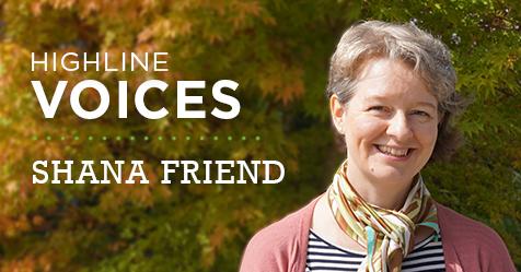 Photo of Shana Friend, Highline Voices