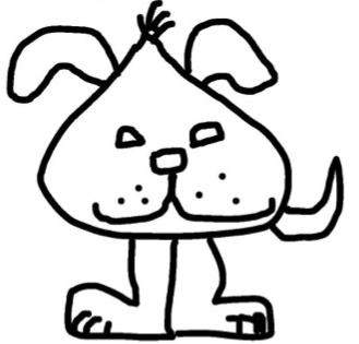 Delta Dog original by Dena Dillon