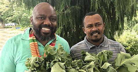 Wakulima USA founders David Bulindah and Dickson Njeri