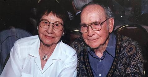 Eva and Ed Gordon